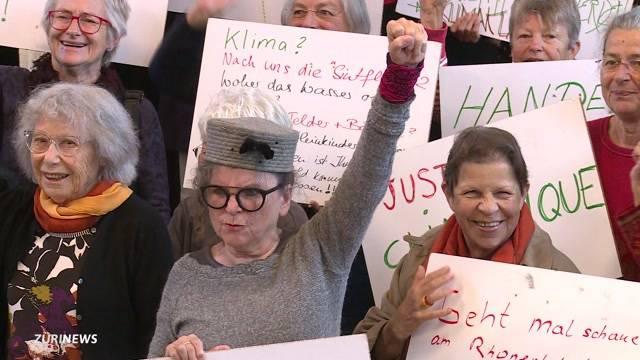 Seniorinnen verklagen Bundesrat