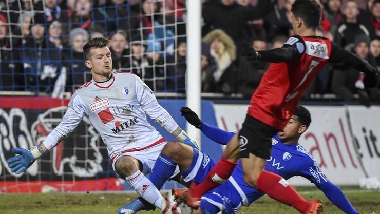 Gegen den Abstieg: Für Aarau und Wohlen wird die Rückrunde wegweisend im Kampf um den Ligaerhalt.
