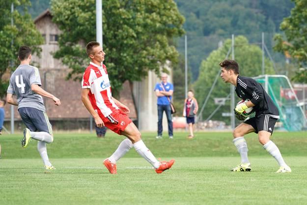 Internationales U19-Turnier des FC Aesch: Bei Real Madrid steht Luca Zidane im Tor.