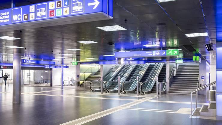 Die Schweiz stand still. Wir zeigen Ihnen in 25 Bildern, wie die Schweiz während der Lockdowns ausgesehen hat. Der Zürich Hauptbahnhof ist einer der meistfrequentierten Bahnhöfe der Welt. Doch mittlerweile sind sogar während der Rush-Hour kaum noch Passagiere anzutreffen.