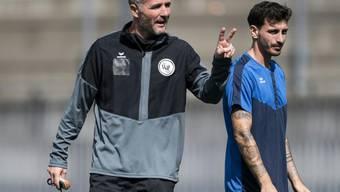 Trainer Alex Frei punktet mit dem FC Wil auch im ersten Heimspiel