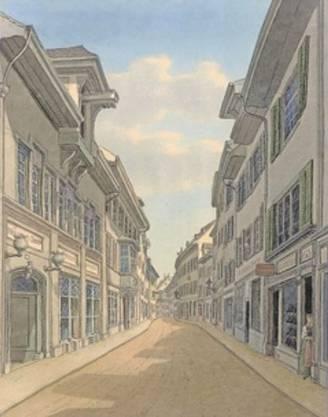 Die Freie Strasse 1893