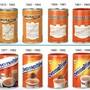 Die Erscheinung des Produkts hat sich über die Zeit stark geändert.
