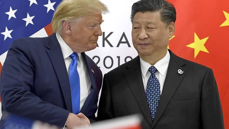 Die USA unter der Führung von US-Präsident Donald Trump haben erneut Massnahmen gegen die Volksrepublik China und damit gegen deren unangetasteten Führer Xi Jinping ergriffen. (Archivbild)
