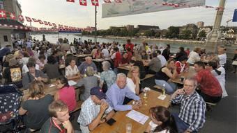Die Bundesfeier am Rhein findet nicht statt