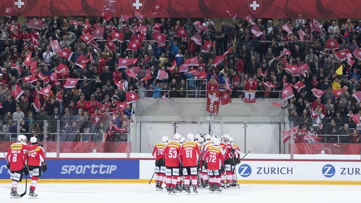 Die Schweizer konnten das Spiel mit 2:0 gewinnen.