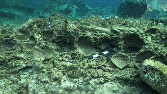 Reste einer Unterwasserstadt: Griechische Archäologen fanden vor der Insel Delos unter anderem zerbrochene Terrakottatöpfe.