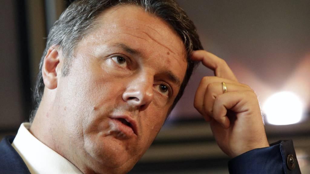 Italienische Sozialdemokraten stehen vor Spaltung