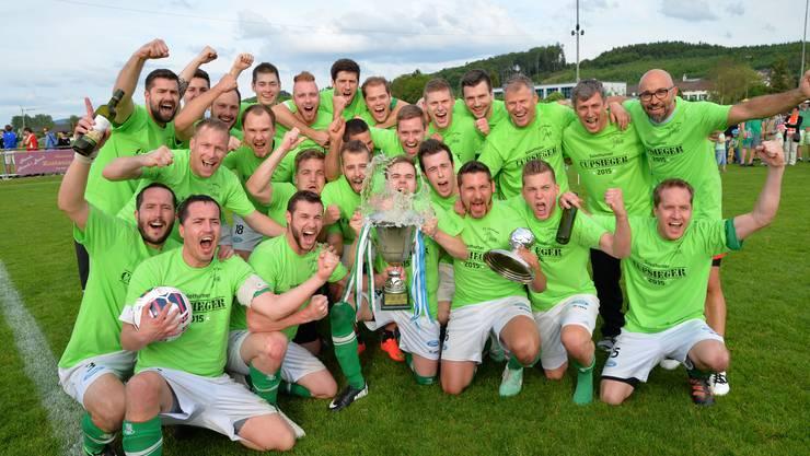 Cupsieger 2015: FC Härkingen