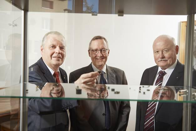 Die Patrons Jürg, Christoph und Urs Lerch (von links)