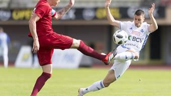 Dem FC Vaduz (hier mit Mario Bühler in rot) läuft es daheim vortrefflich: 16 Goals in den letzten vier Heimspielen