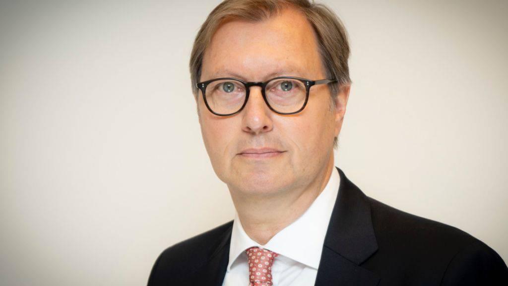Er ist seit Dienstag neuer deutscher Botschafter in der Schweiz: Michael Flügger.