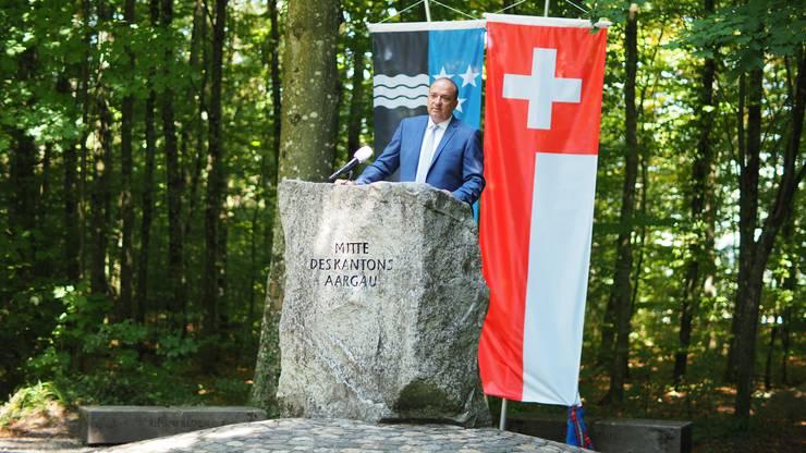 «Machen wir das Beste daraus», sagte Landammann Markus Dieth bei seiner Ansprache zum 1. August.