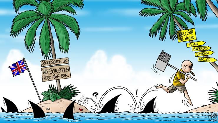 as britische Unterhaus möchte die sogenannten «Übersee-Territorien» mit einem Gesetz zwingen, die Eigentümer und Nutzniesser der Firmen in einem öffentlichen Register publik zu machen. Kritiker vermuten, dass dann das Offshore-Geschäft «an noch dunklere Orte» ausweicht.