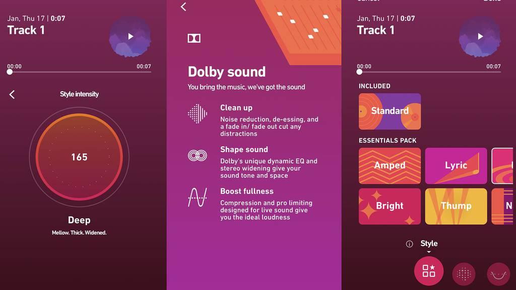 Dolby On - Das Tonstudio für dein Smartphone