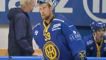 HCD-Goalie Anders Lindbäck war in Langnau so stark wie noch nie seit seinem Wechsel in die Schweiz