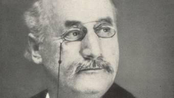 Festredner Johann Burkart. zvg