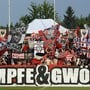 FC Aarau-Fans im Brügglifeld (Archiv)