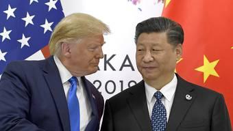 Donald Trump und Chinas Präsident Xi Jinping. (Archivbild)