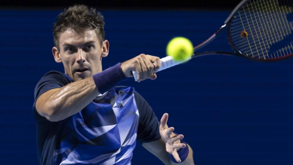 Henri Laaksonen auf dem Weg ins Haupttableau des Australian Open