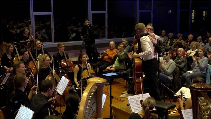 Motivation, Hingabe und stetig verfeinertes Können machen das Jugend-Sinfonieorchester Aargau aus – dies zeigte sich auch beim Kammerkonzert in Wettingen. zvg