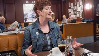 Stadtratskandidatin Iris Schelbert