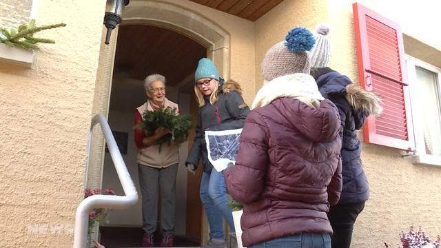 Adventskranz-Tradition in Lyssach