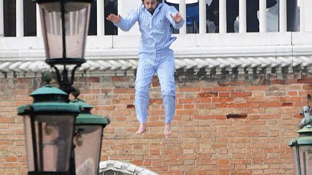 Stuntman springt für Johnny Depp in die Tiefe (Archiv)