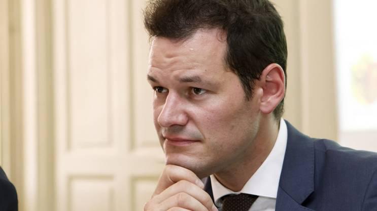 Der Genfer Justizdirektor Pierre Maudet (FDP).