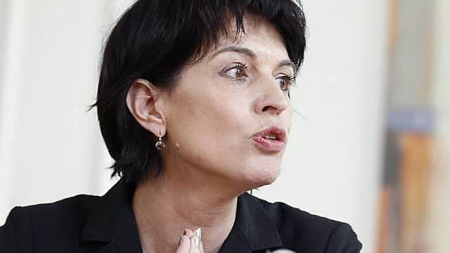 Energieministerin Doris Leuthard (Archiv)