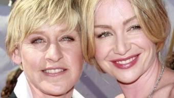 DeGeneres (l.) und de Rossi sind ein glückliches Paar (Archiv)
