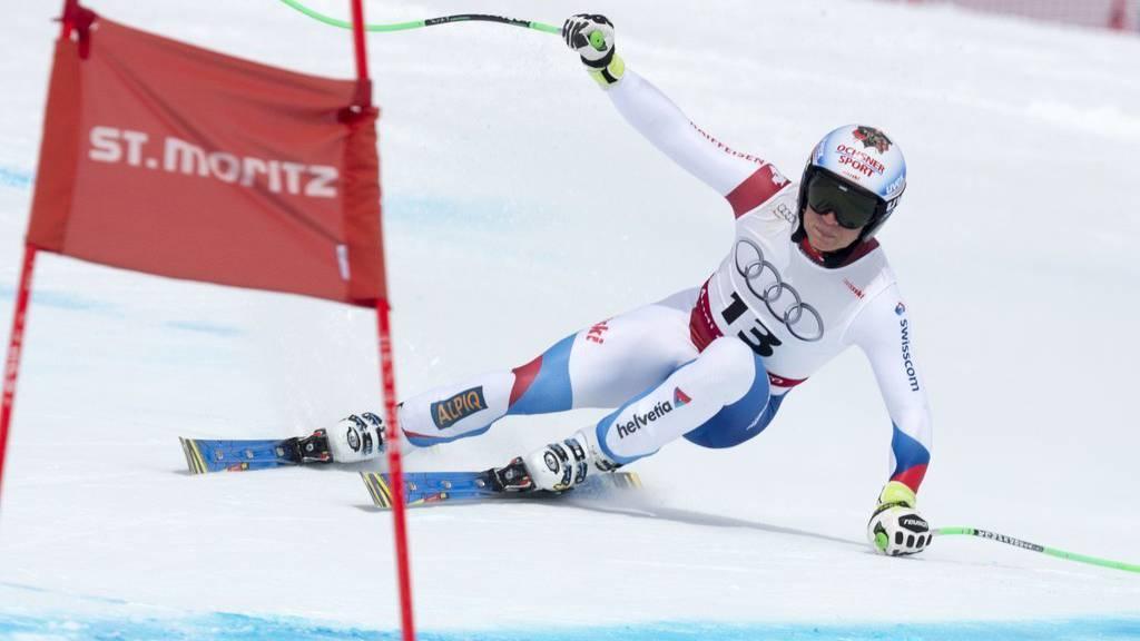 Fernando Schmed (hier an den Schweizermeisterschaften im März) will in diesem Jahr durchstarten. (KEYSTONE/Gian Ehrenzeller)