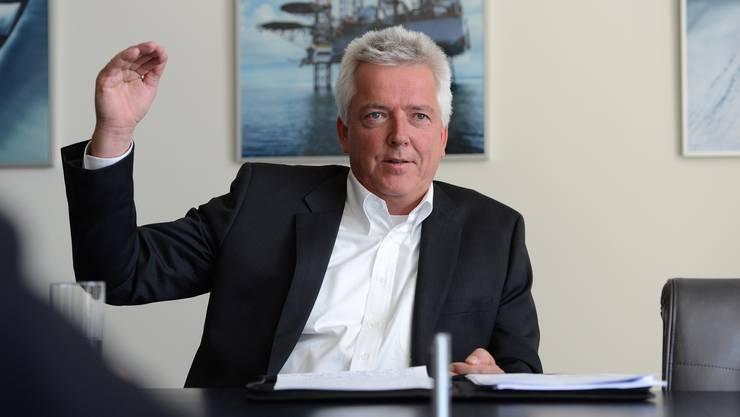 Der Chef von Panalpina, Peter Ulber, kann sich den Einsatz von Dohnen vorstellen – etwa bei Bohrinseln.