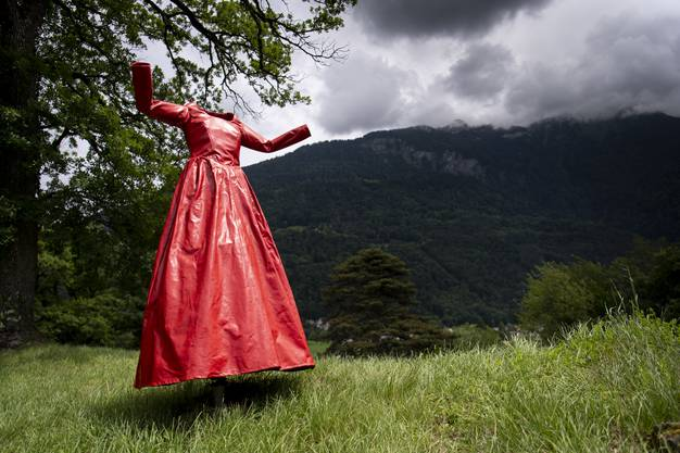 Die malerische «Schwebende» von Anja Luithle.