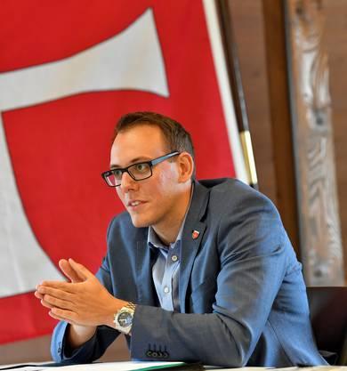 Fabian Gloor, Gemeindepräsident von Oensingen