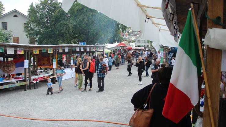In diesem Jahr fand das Volksfest Begegnung der Kulturen in Wohlen statt.