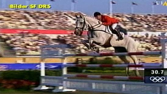 Olympische Spiele 2000 in Sydney: Willi Melliger holt auf Calvaro Silber