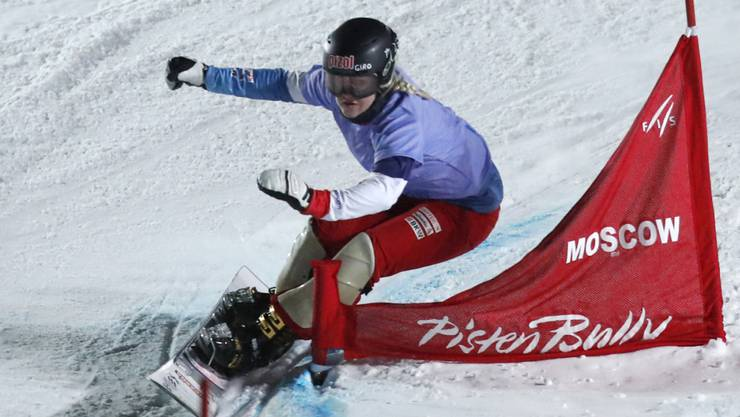 Erfolgreich gestartet: Julie Zogg siegt im ersten Paralell-Slalom der Saison