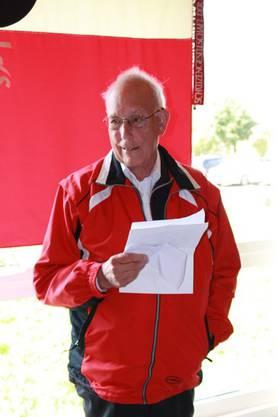 Ehrenpräsident Peter Voser beleuchtete 550 Jahre Vereinsgeschichte.