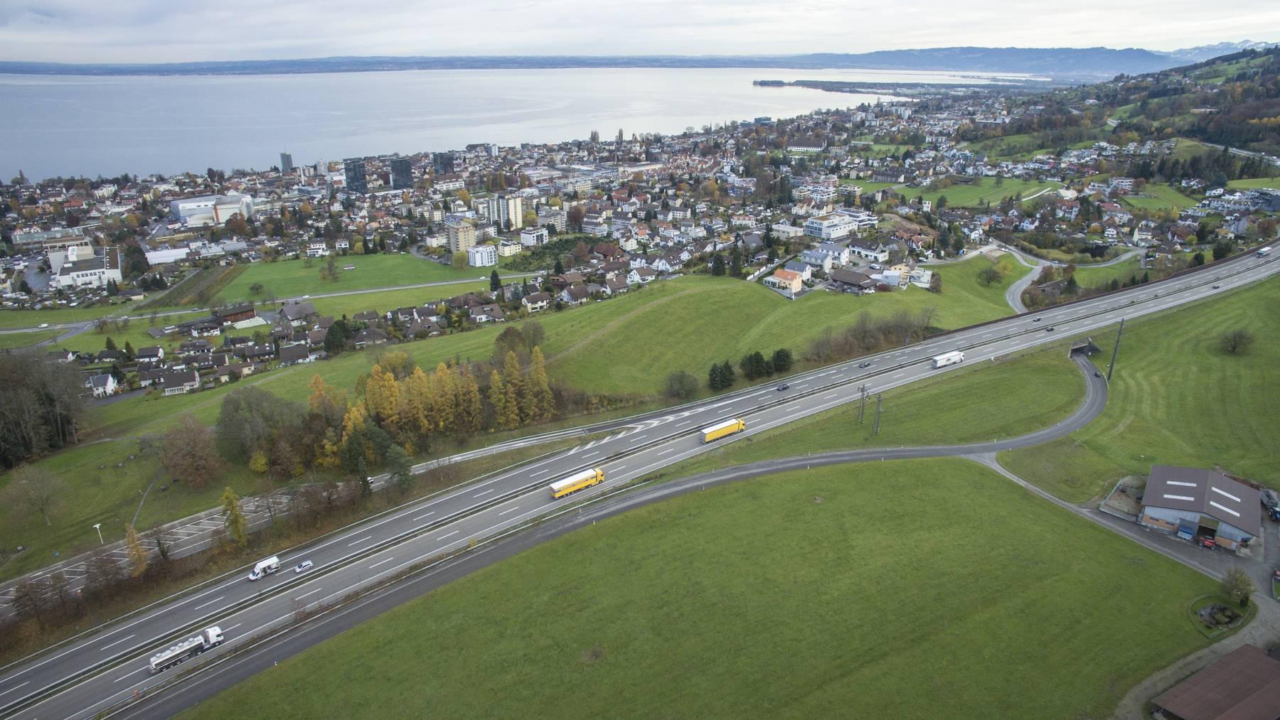 Hier könnte ein neuer Autobahnanschluss entstehen.