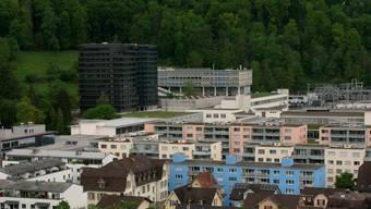 «Höhere Bauten» im Gebiet Baden Nord.