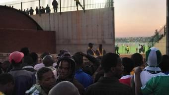 Panik bei Fussballspiel in Kenia (Symbolbild)