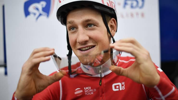 """Stefan Küng wird bei """"The Digital Swiss 5"""" nicht für sein Team Groupama-FDJ, sondern für die Schweizer Nationalmannschaft antreten"""