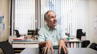 Geht nach 27 Jahren am BBZ Olten in Pension: Heinz Flück, Leiter des Berufsvorbereitungsjahres.