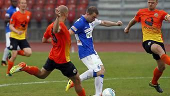 Runar Mar Sigurjonsson, die Neuverpflichtung der Grasshoppers, zeichnete sich beim 2:2 gegen KR Reykjavik als Doppel-Torschütze aus