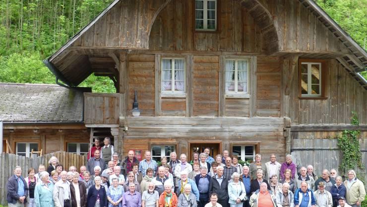 Teilnehmer Seniorenausflug