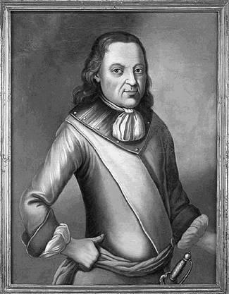 Trauttmansdorff auf einem anonymen Brustbild, um 1695.