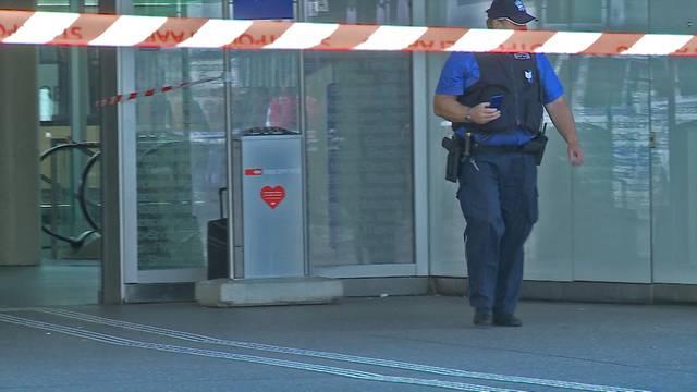 Der verdächtige Koffer am Bahnhof Aarau.