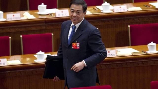 Der chinesische Politiker Bo Xilai verliert nun auch seinen Sitz im Zentralkomitee der kommunistischen Partei Chinas (Archiv)