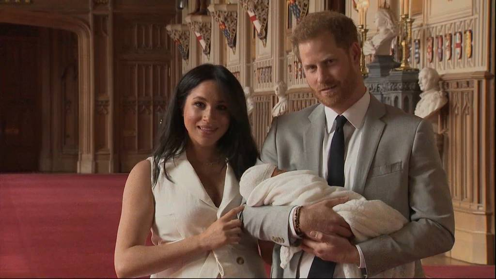 Royal Baby heisst Archie Harrison Mountbatten-Windsor